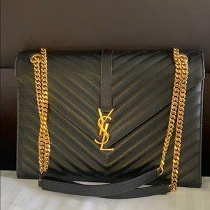 YSL Saint Laurent Monogram Matelasse Shoulder Bag
